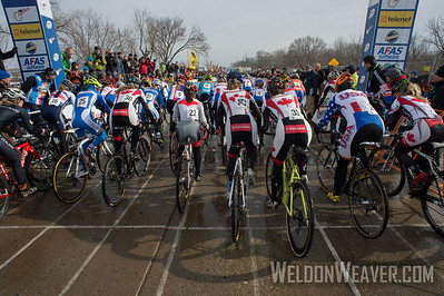 Women's Start. 2013 CX Worlds. Louisville, KY USA.  Photo by Weldon Weaver