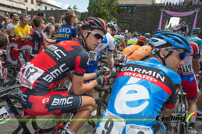 2013 Giro Stage 9. Taylor PHINNEY.  Photo by Weldon Weaver.