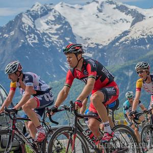 2013 Dauphine climbs to L'Alpe D'Huez