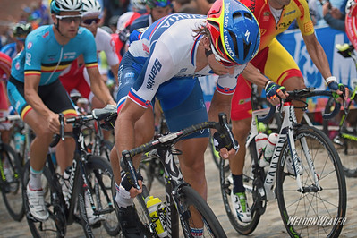 Peter Sagan. Richmond 2015 World Championships.  Photo by Weldon Weaver.