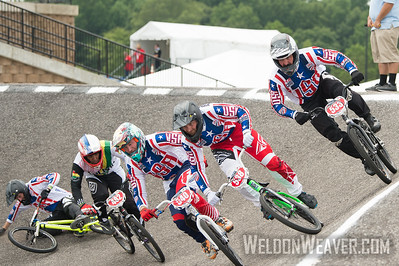 Final of the Mens 35 and Over 2017 BMX World Challenge in Rock Hill, SC (USA).