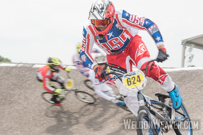 JACK KELLY (USA) won the 2017 BMX World Challenge (14 Boys) in Rock Hill, SC (USA).
