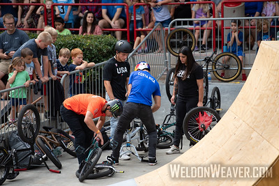 2019 BMX Freestyle UCI C1. Cary, NC. USA. Photo by Weldon Weaver.