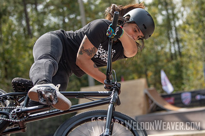 Macarena Perez. 2019 BMX Freestyle UCI C1. Cary, NC. USA. Photo by Weldon Weaver.