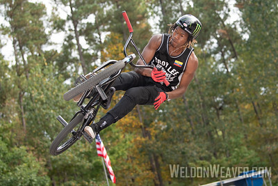 Jonathan Camacho. 2019 BMX Freestyle UCI C1. Cary, NC. USA. Photo by Weldon Weaver.