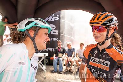 2019 Giro Rosa.  Stage 9. Photo by Weldon Weaver.