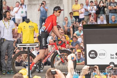 2019 Tour de France. Stage 1 Brussels. Photo by Weldon Weaver.
