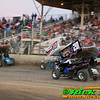 Great Sprint Car Racing on a Very Racy Track