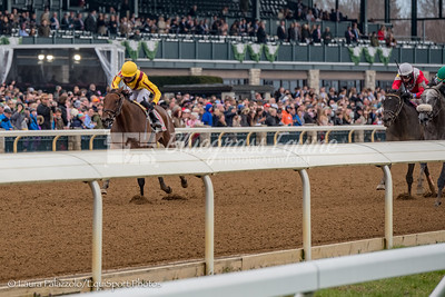 Electric Forest wins the Normandy Julep Cup Opening weekend at Keeneland