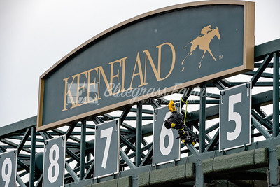 Keenleand Starting Gate with camera, 04-06-18, Lexington KY