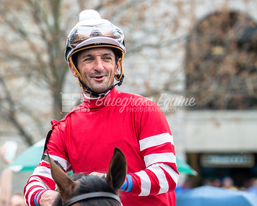 Jockey Robby Albarado, Keeneland 04/1418