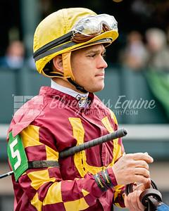Javier Castellano, jockey. Keeneland, 01/14/18
