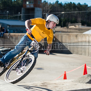 2014 USNWC Rumble in the Concrete Jungle.  Downhill.  January 12, 2014.  Charlotte, NC.  Photo by Weldon Weaver.