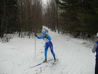 Women's winner, Tracy Hardin