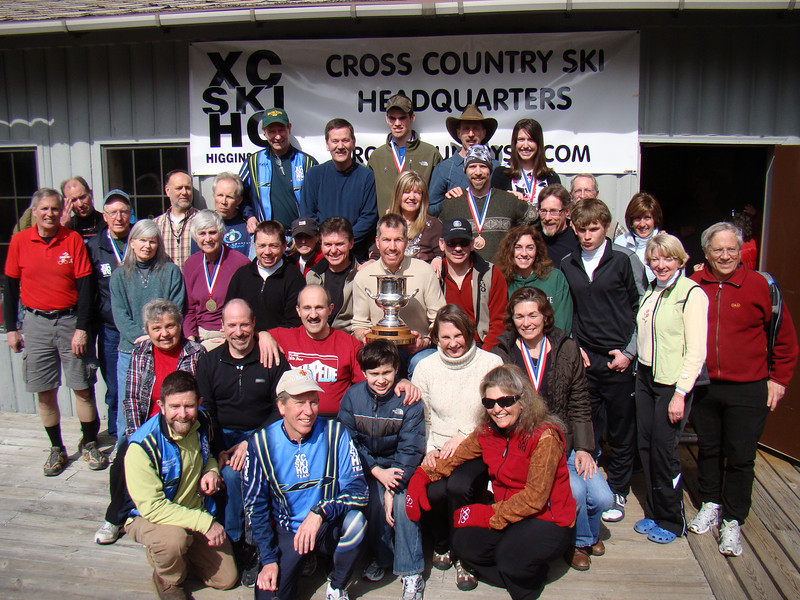 Congratulations to the 2010 Michigan Cup champions, the Cross Country Ski Headquarters!