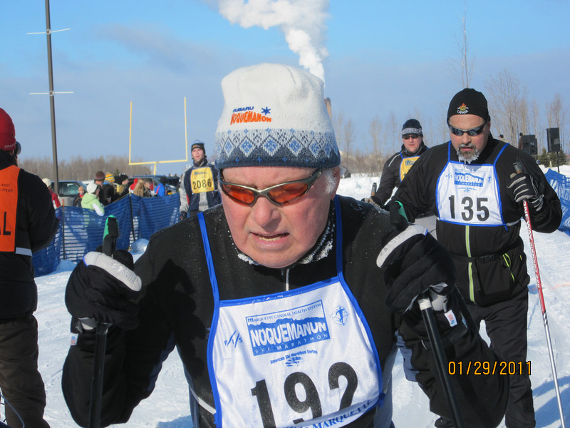 Ben Gralla. How many x-c skiers do you know whose origin is Hamtramck MI.