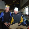 Team NordicSkiRacer's Bill Kaltz and Grand Rapids Nordic's Steve Smegiel.
