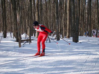 Ryan Halstead was running in second.
