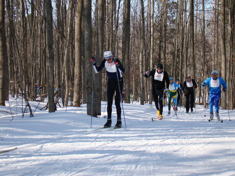 Overall age group winner (70+) for the 2009 Michigan Cup, Bill Haefner of Team NordicSkiRacer.