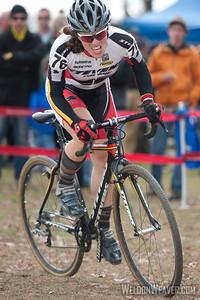 2011 UCI NC GP. Emily Thurston