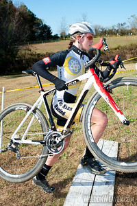 2011 NCCX4 Salisbury, NC. Allison Arensman. Fiets Maan CX--presented by: Studio7Multisport. Rutherford College, NC