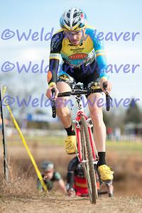 Jon Hamblen, 6th place. North Carolina Cyclo-cross Series -  NCCX Race #8 - Sun. December 4, 2011 - Statesville, NC. Photo by Weldon Weaver.