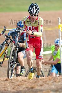 Scott Frederick, 4th place.  North Carolina Cyclo-cross Series -  NCCX Race #8 - Sun. December 4, 2011 - Statesville, NC. Photo by Weldon Weaver.