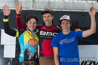 NCCX#7 Statesville, NC.  Men's Podium.   Photo by Weldon Weaver 2012.