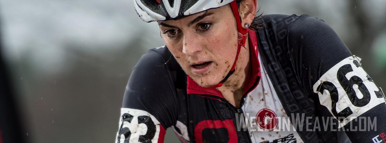 Erin Silliman. Corsa Concepts Cyclocross Team. 2012 NCCX11 Hendersonville. UCI Elite Women. Photo by Weldon Weaver.