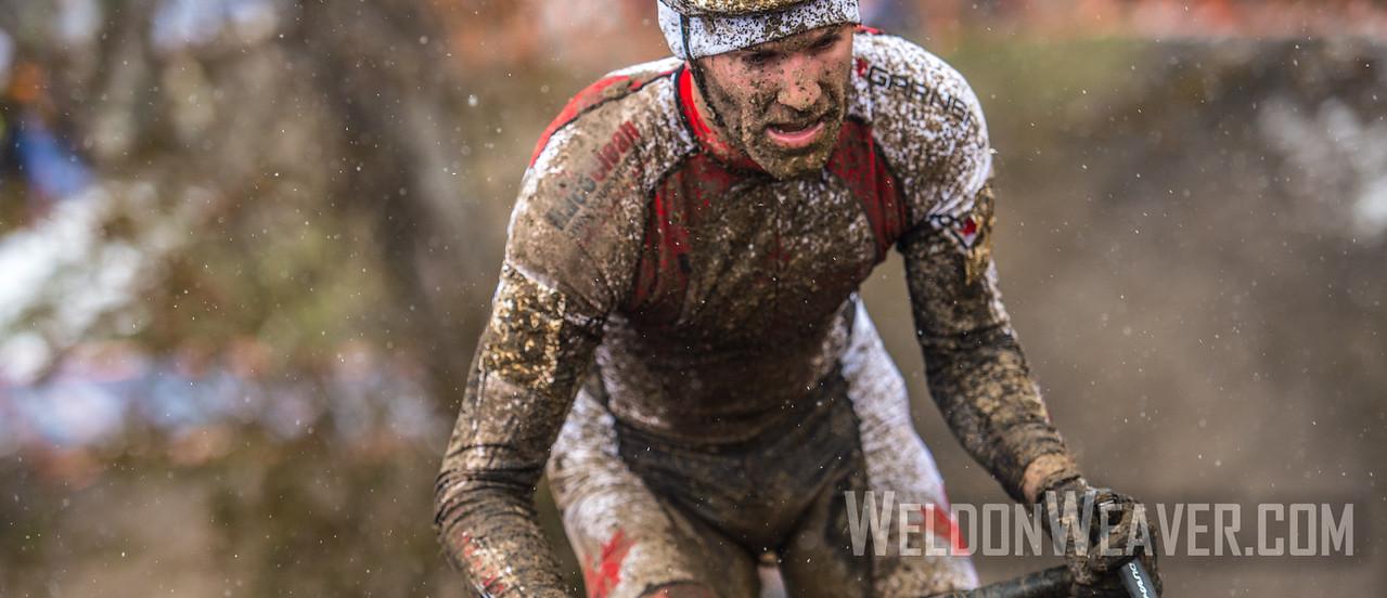 Geoff KABUSH.  2013 CX Worlds. Louisville, KY USA.  Photo by Weldon Weaver