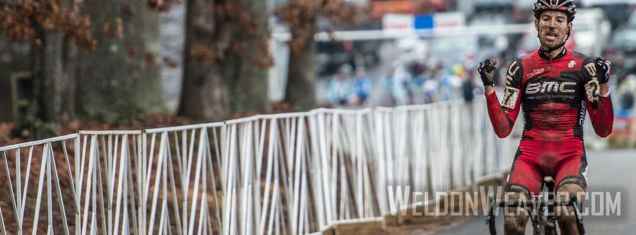 Kerry Werner Jr. u23 BMC development mtb team. 2012 NCCX11 Hendersonville. UCI Elite Men. Photo by Weldon Weaver.