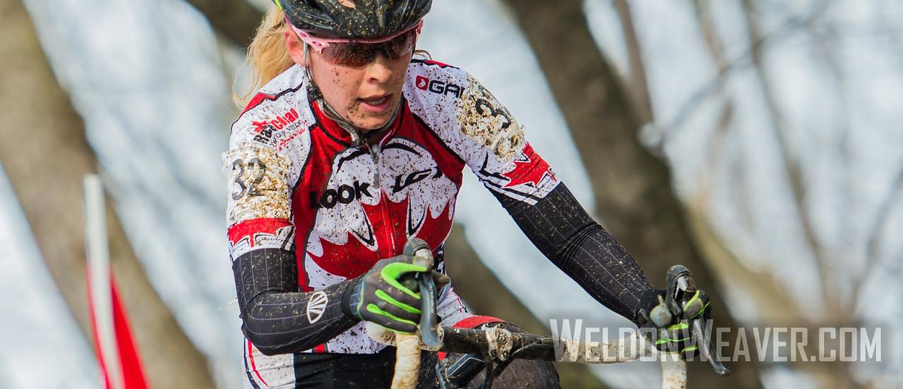 Emily BATTY.  2013 CX Worlds. Louisville, KY USA. Photo by Weldon Weaver