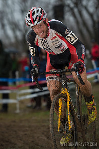 Jake Wells.  NoTubes Elite Cross Team.  2012 NCCX11 Hendersonville. UCI Elite Men.  Photo by Weldon Weaver.