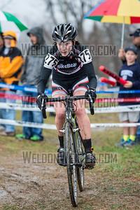 2012 NCCX11 Hendersonville. UCI Elite Women.  Photo by Weldon Weaver.