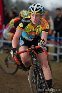 Julie Paisant.  Mock Orange Bikes.  2012 NCCX11 Hendersonville.  Photo by Weldon Weaver