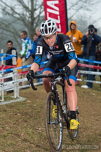 Amanda Carey.  boo bicycles.  2012 NCCX11 Hendersonville. UCI Elite Women.  Photo by Weldon Weaver.