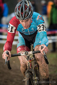 Bob's Red Mill Cyclocross Team.  2012 NCCX11 Hendersonville. UCI Elite Men.  Photo by Weldon Weaver.