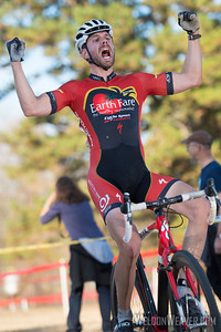 Christopher Larsen is the NC Elite Masters Champion.  2012 NCCX8 Charlotte, NC.  Photo by Weldon Weaver.