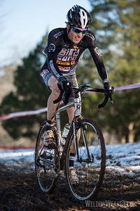 Joseph Cross.  NCCX#15 Greensboro.  Jan 20, 2013.  Photo by Weldon Weaver.
