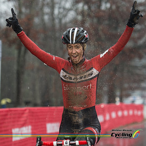 Winner Jessica Cutler.  North Carolina Grand Prix Day 1.  Hendersonville, NC.  Photo by Weldon Weaver.