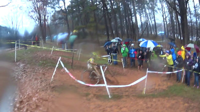 Is this proof of a motorized CX bike?  Just wait 'till you see what happens when this bike hits the ground.