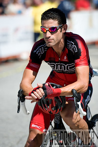 George Hincapie. US Pro Cycling Championship Greenville, SC, 2010.