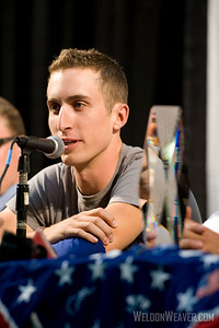 Taylor Phinney at 2010 USA Cycling Professional Championship Friday Press Conference