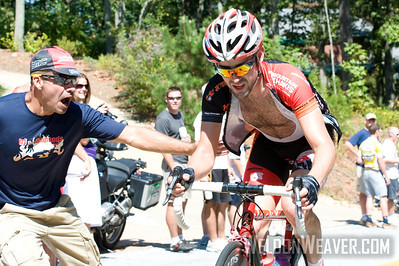 Mountain Khakis rider climbs Paris Mountain at 2010 USA Cycling Professional Road Championship