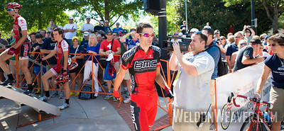 George Hincapie signs in at 2010 USA Cycling Professional Road Championship