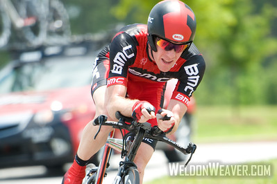 US Pro Cycling Championship Time Trial Greenville, SC, May 28, 2011. Brent Bookwalter.  Photo by Weldon Weaver.