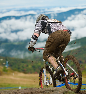 #364 Chris Frohsin M JR 15-19  3rd place. 2011 Mtb Gravity Nationals.  Beech Mtn NC.