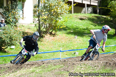 Grau USAC MTB Championships Qualifying DS AM 9/23/2011.  #91, #94