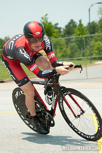Brent Bookwalter (BMC Racing Team).  2012 US Pro Time Trial Championship May 26, 2012..  Photo by Weldon Weaver.