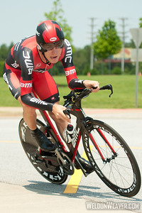 Tejay Van Garderen (BMC Racing Team).  2012 US Pro Time Trial Championship May 26, 2012..  Photo by Weldon Weaver.